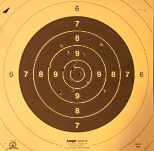 Free Pistol Target Reported 09.01.2012