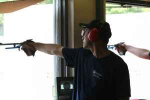Ruslan Dyatlov at 2007 USAS National (Free Pistol National Final 2007)