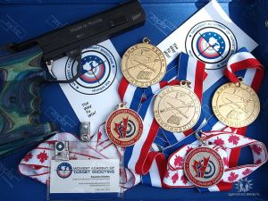 2005, 2006. 2007 USAS NE Region Champion in FREE and Air Pistol events.