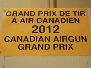 Canadian Airgun Grand Prix 2012