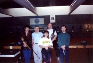 1993 in Israel at National Olympic Target Shooting Center in Herzliya.