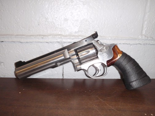Competitive Shooting PPC. Custom built for Competitive Shooting PPC Smith & Wesson revolver.38 cal.