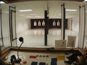 Fenton club indoor shooting range