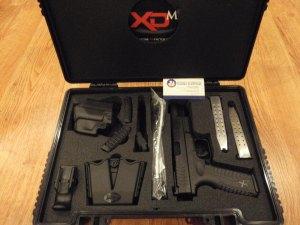 Springfield XDM9  9mm 5.25
