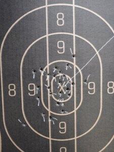 Ruslan Dyatlov /Fenton  Combat Pistol  Match/ Target B 287