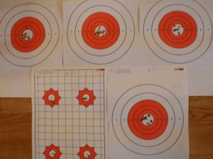 Competition Targets. Ruslan Dyatlov, competitor #53.