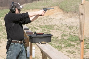 Ruslan Dyatlov at Target Pistol Shooting Competitions Holly Michigan 04.06.2013