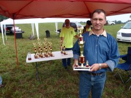 Target  Shooting Pistol competitions September 7, 2013. Ruslan Dyatlov First Place.