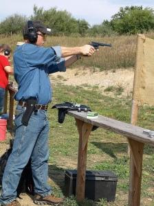 Ruslan Dyatlov at Target shooting competition 2