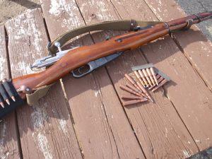 Mosin–Nagant Model 1938 Carbine, 7.62×54mmR