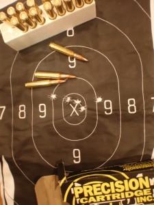 My Carcano 7.35×51mm 50 yards test