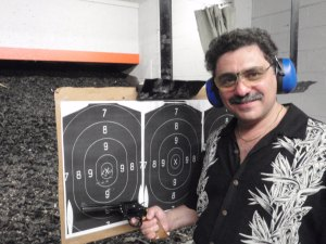 Perfect Single Shot Development in Olympic Pistol Shooting Class with Ruslan