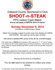 SHOOT-n-STEAK