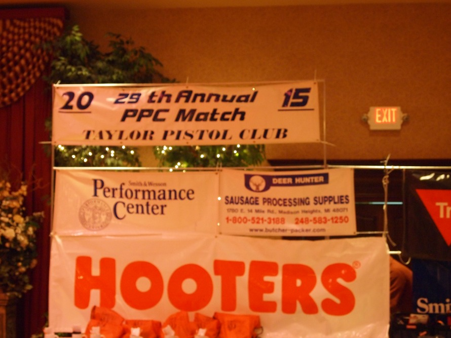 My 2015 ​ 29th Annual Taylor Pistol Club Match Final Scores.