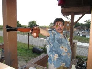 July 2015. Olympic Pistol Advance Class with Ruslan Dyatlov in Troy, Michigan.