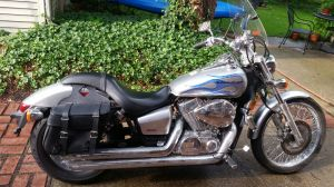 My Honda Shadow 750cc