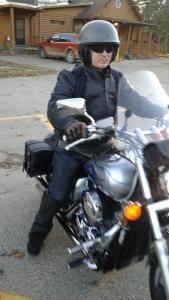 My Honda Shadow 750cc