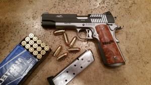 My Sig STX 1911 .45 ASP